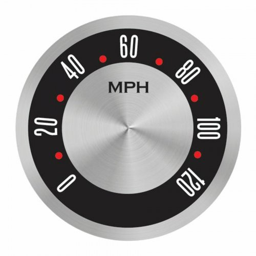 American Retro Rodder Series Speedometer Face instructions, warranty, rebate