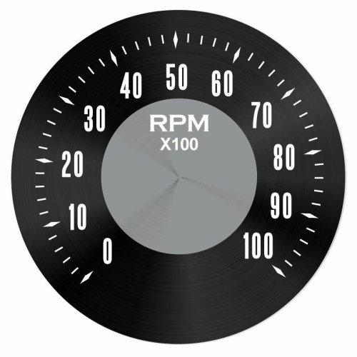 American Classic Series Tachometer Black Face instructions, warranty, rebate