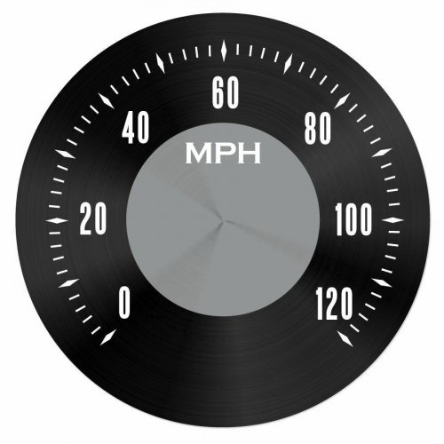 American Classic Series Speedometer Black Face instructions, warranty, rebate