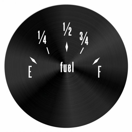 American Classic Series Fuel Level Black Face instructions, warranty, rebate