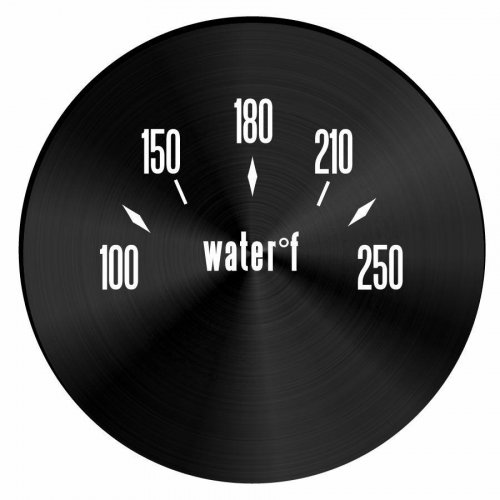 American Classic Series Water Temp Black Face instructions, warranty, rebate